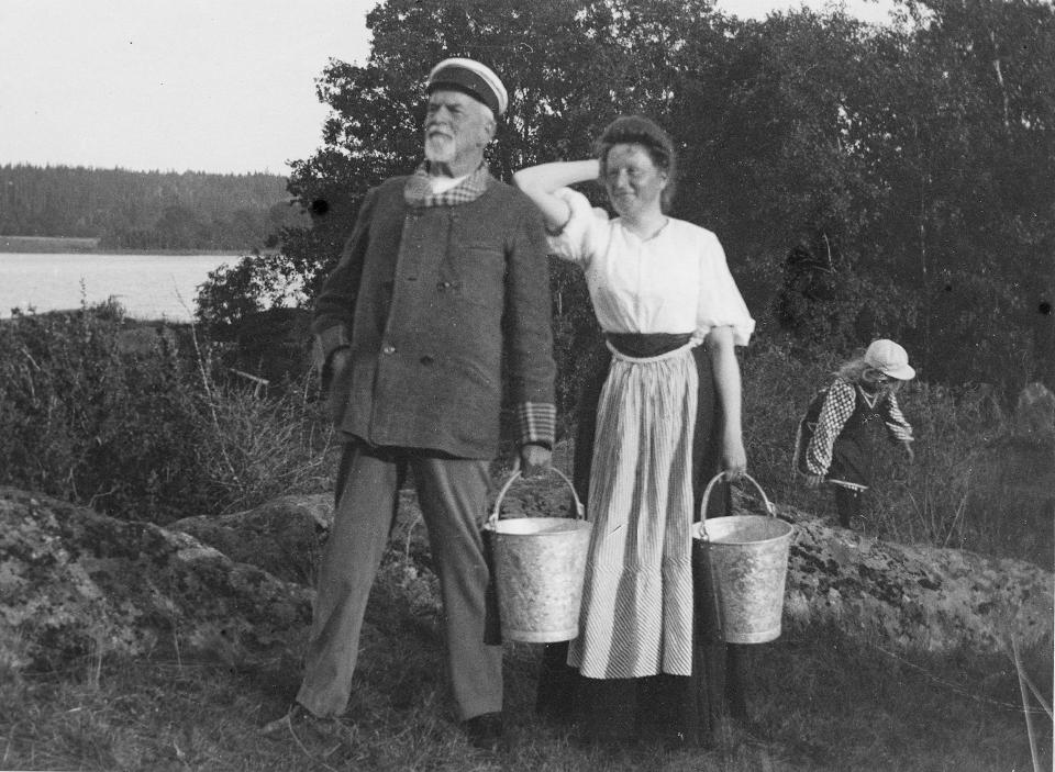 Nanna Tingwall och Ludvig Richnau