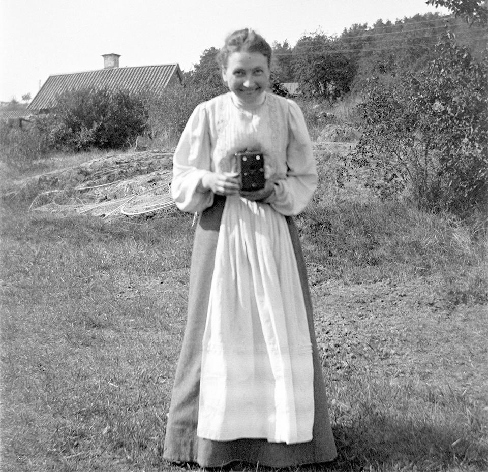 Nanna Tingwall självporträtt