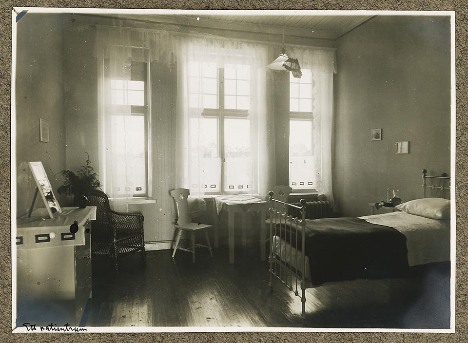 Patientrum i Karolina Widerströms klinik.